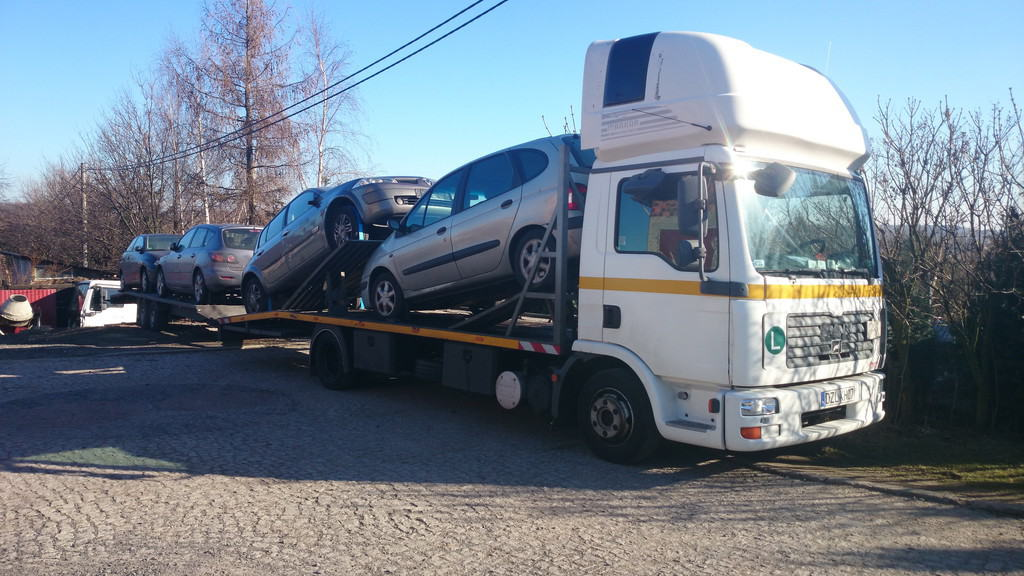 Transport aut EU Ceny